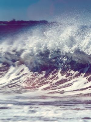 海岸波动态壁纸