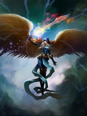 天使的翅膀手机壁纸
