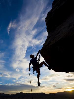 攀岩摇滚手机壁纸