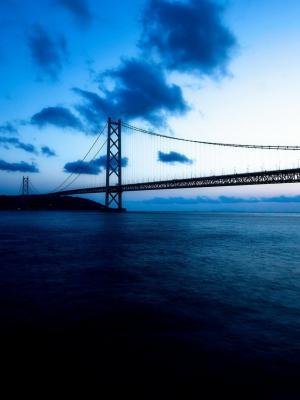 在日本移动壁纸的珍珠桥