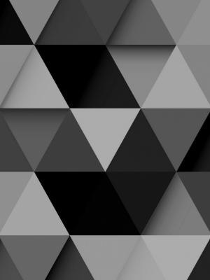抽象的黑色设计移动壁纸