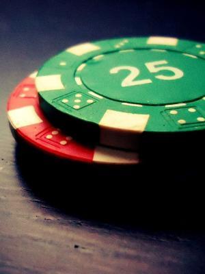 扑克筹码游戏手机壁纸