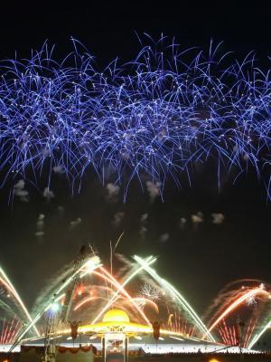 烟花新年除夕12月31日烟花移动壁纸