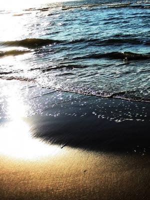 太阳海滩移动壁纸