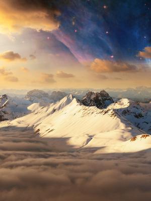 山风景手机壁纸
