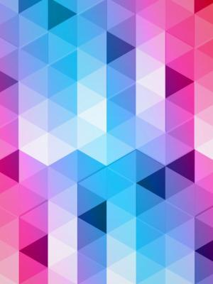 三角形设计移动壁纸