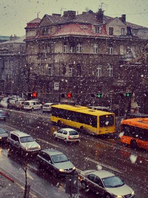 塞尔维亚都市风景手机壁纸