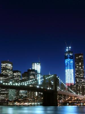 布鲁克林大桥手机壁纸
