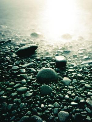 自然岩石石头手机壁纸