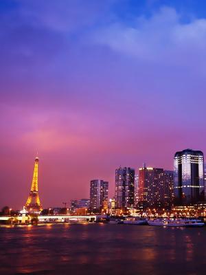 巴黎建筑城市风景手机壁纸