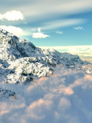 山云彩手机壁纸