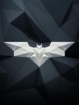 蝙蝠侠标志手机壁纸