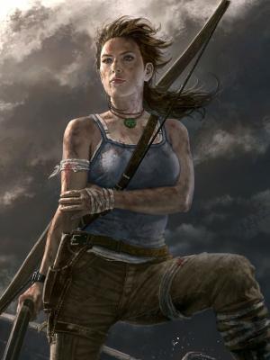 Lara Croft手机壁纸