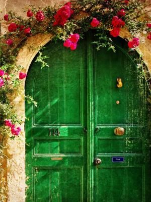 如诗如画的老房子移动壁纸