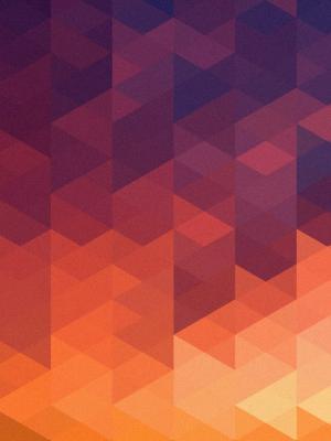 抽象多色形状移动壁纸