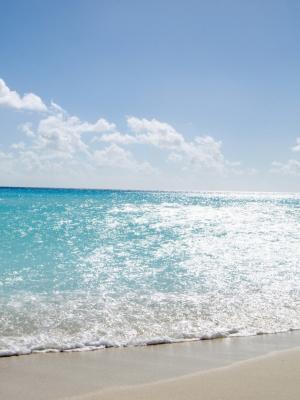 热带海滩手机壁纸