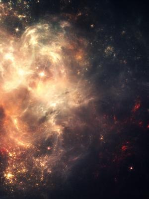 星云外层空间手机壁纸