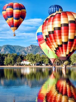 科罗拉多州气球经典移动壁纸