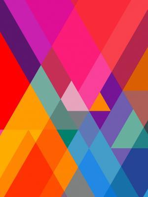 多彩的默认移动壁纸