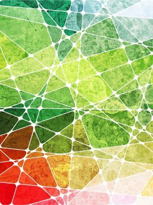 抽象彩虹手机壁纸