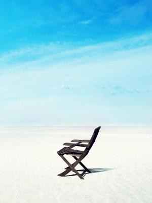 海滩地平线手机壁纸