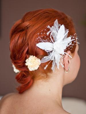 发型装饰头发婚礼手机壁纸