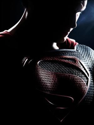 钢移动墙纸的超人人