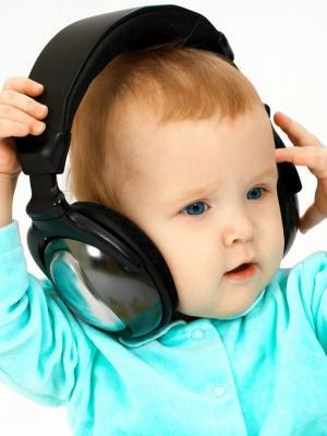 DJ婴儿手机壁纸