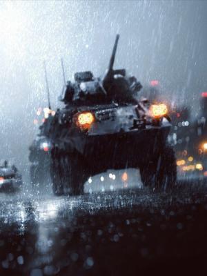 战场雨手机壁纸