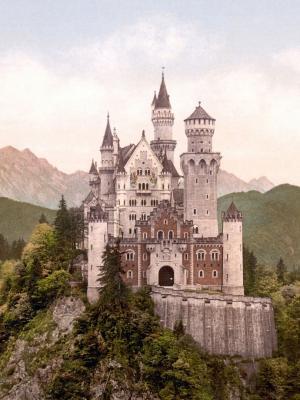 新天鹅堡城堡手机壁纸