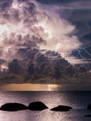 风暴手机壁纸
