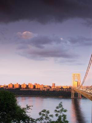 乔治·华盛顿桥移动壁纸