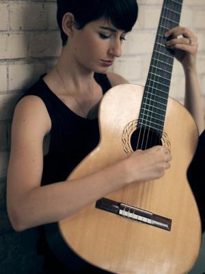 devushka gitara muzyka手机壁纸