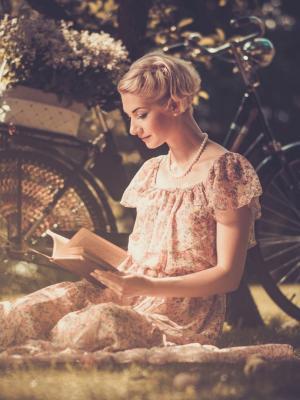 阅读书籍手机壁纸