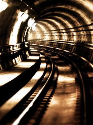 建筑物隧道移动壁纸