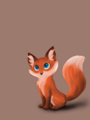 红狐狸手机壁纸
