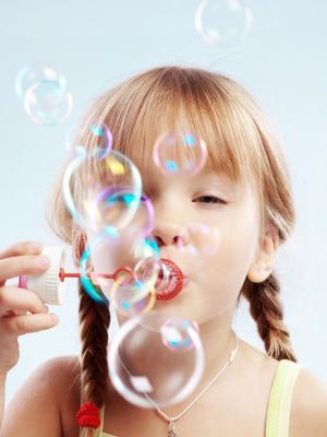 儿童泡沫移动壁纸