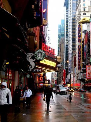 纽约阴移动壁纸