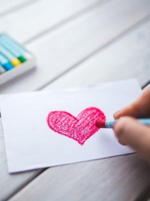 爱的心手浪漫手机壁纸
