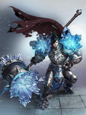 英雄联盟Taric Armor手机壁纸
