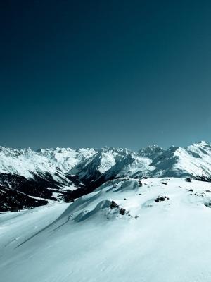 景观雪移动壁纸