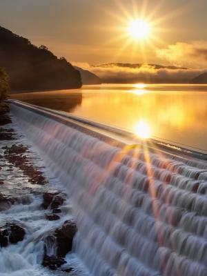 日落大自然移动壁纸