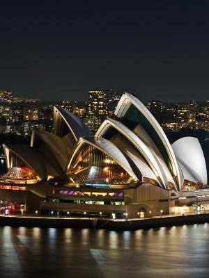 悉尼歌剧院手机壁纸