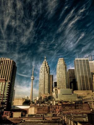 加拿大天空手机壁纸