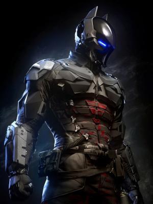 蝙蝠侠阿卡姆骑士Batsuit手机壁纸