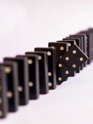 游戏多米诺骨牌片移动壁纸
