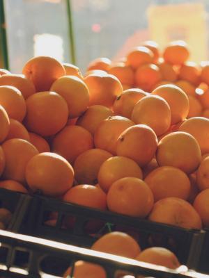 橙子水果许多移动壁纸