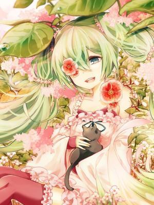 Hatsune Miku Kaio Vocaloid手机壁纸