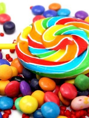 糖手机壁纸的颜色