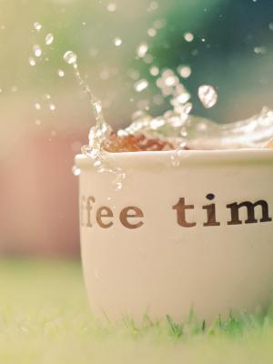 咖啡时间手机壁纸